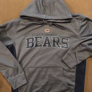 Chicago bears hoodie by NFL size medium